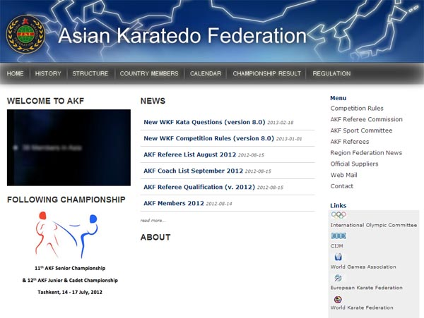 AKF new web site