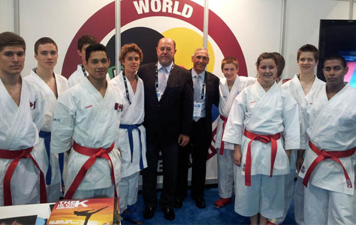 WKF in Quebec SportAccord Convention